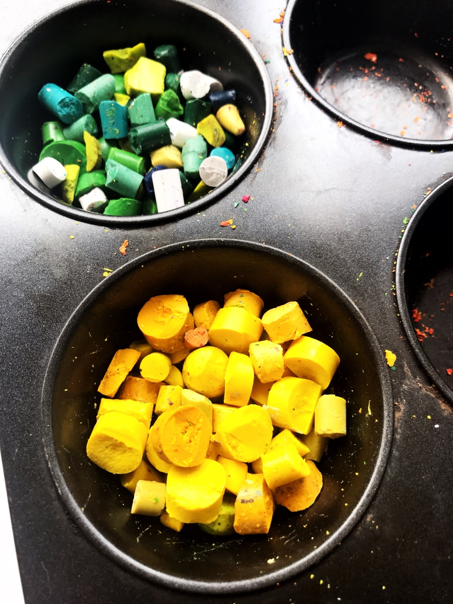 Recycled Crayons